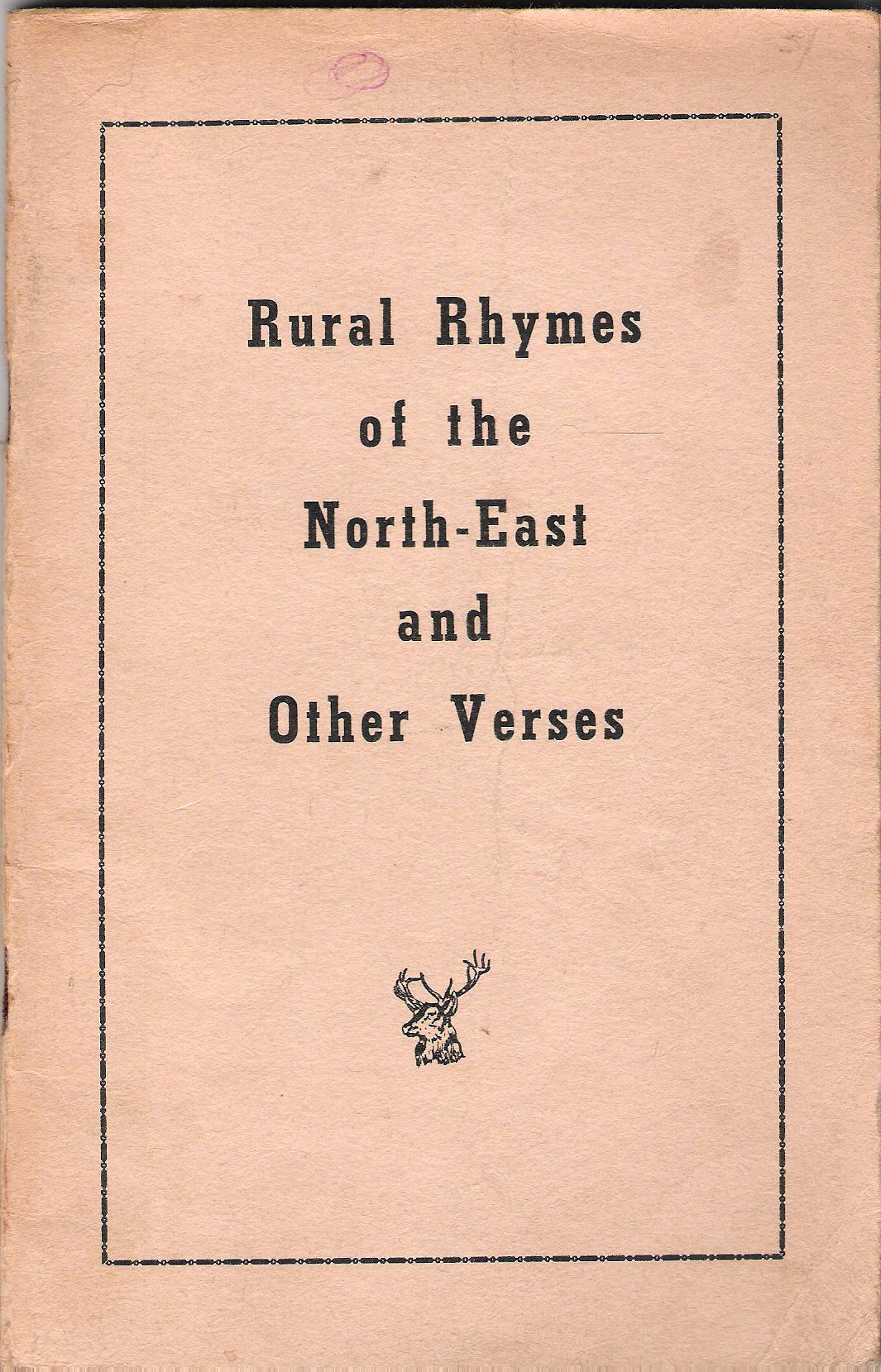 Image for Rural Rhymes of the North-East and Other Verses.