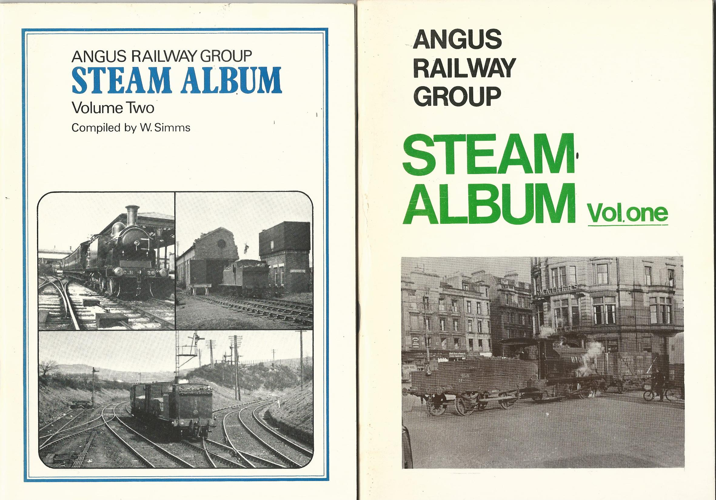 Image for Angus Railway Group: Steam Album Volumes 1-3