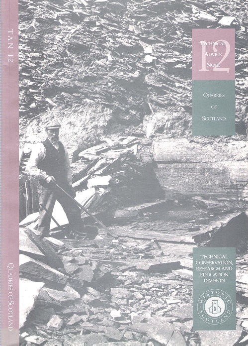 Image for Quarries of Scotland: An Illustrated Guide to Scottish Geology and Stone Working Methods Based on the British Geological Survey Photographic Archive of Selected Building Stone Quarries