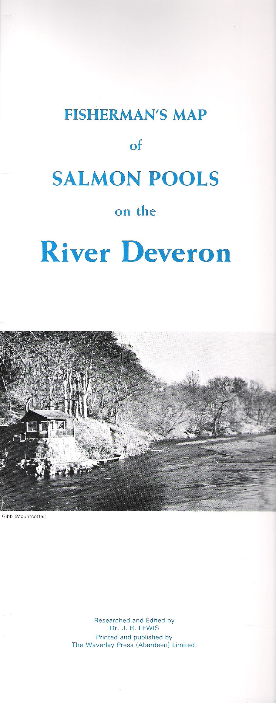 Image for Fisherman's Map of Salmon Pools on the River Deveron.