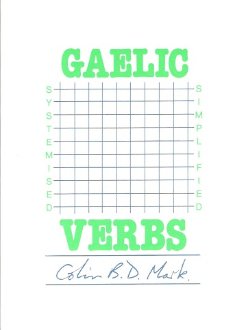 Image for Gaelic Verbs.