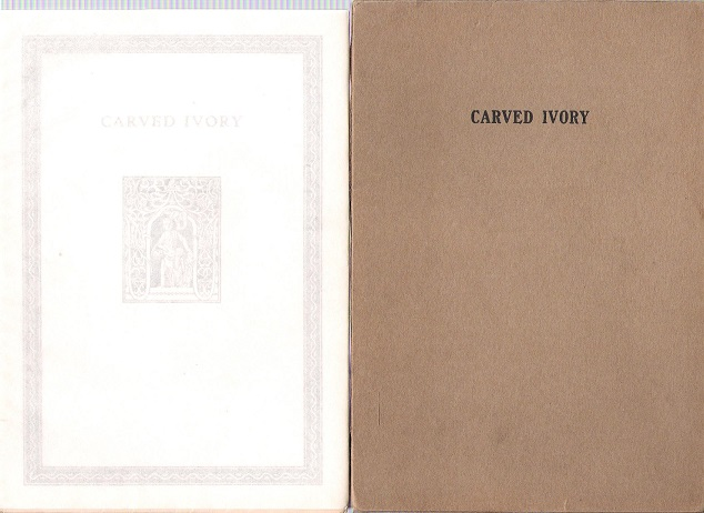 Image for Carved Ivory.