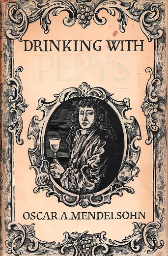 Image for Drinking with Pepys.