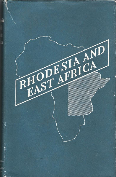 Image for Rhodesia and East Africa.