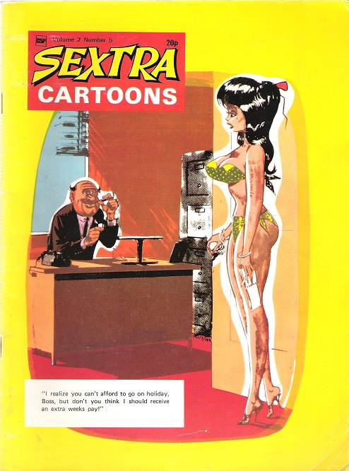 Image for Sextra Cartoons Volume 2 Number 5.