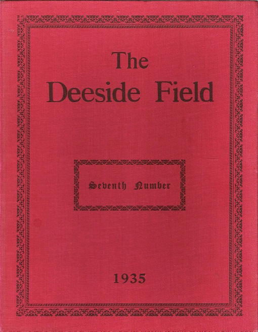 Image for The Deeside Field: Seventh Number (7).