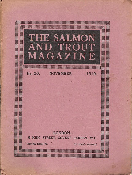 Image for The Salmon and Trout Magazine. No. 20.