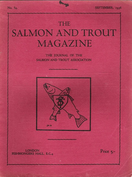 Image for The Salmon and Trout Magazine: Number 84.
