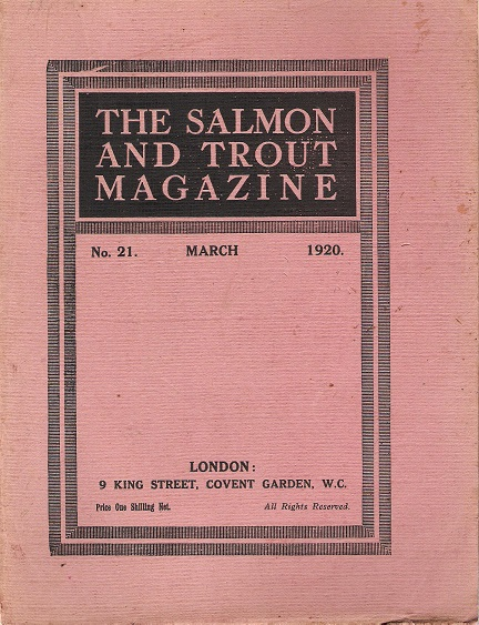 Image for The Salmon and Trout Magazine: Number 21.