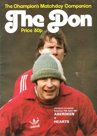Image for The Don. Matchday Companion Saturday 11th April 1981.