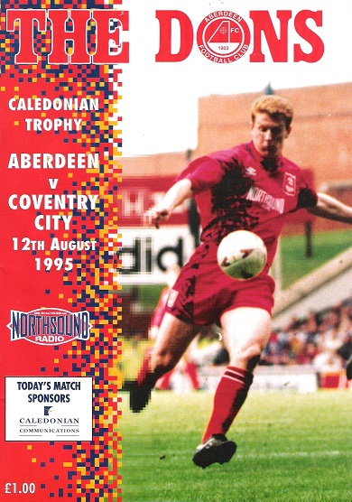 Image for The Dons, Official matchday magazine. Aberdeen v. Coventry City, 12th August 1995.