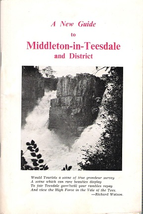 Image for A New Guide to Middleton-in-Teesdale and District.