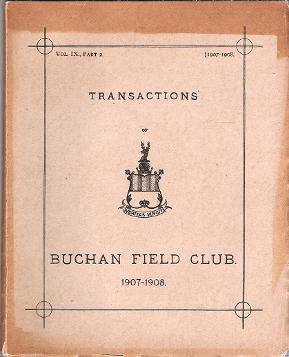 Image for Transactions of the Buchan Field Club 1907-1908, Vol. IX, Part 2.