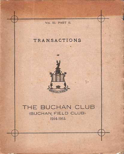 Image for Transactions of the Buchan Field Club 1914-1915: Vol. XI Part 2.