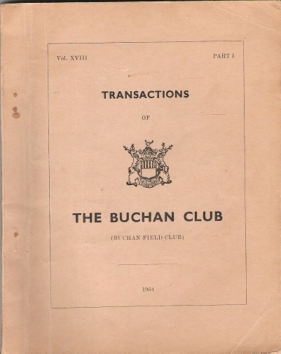Image for Transactions of the Buchan Club, Vol. XVIII, Part 1.