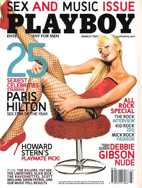 Image for Playboy March 2005.