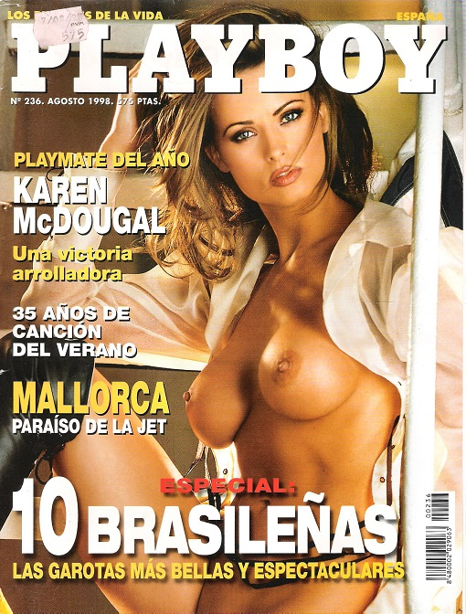 Image for Playboy Espana, August 1998.