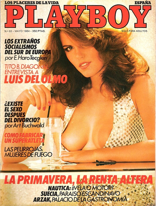Image for Playboy Espana May 1984.
