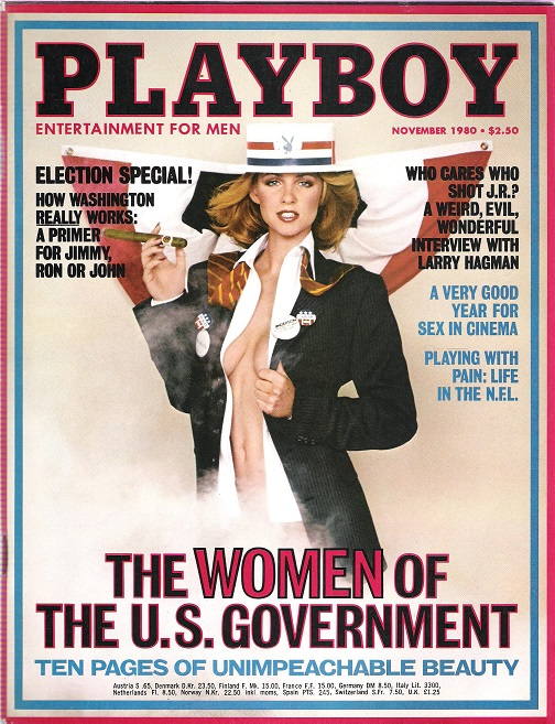 Image for Playboy November 1980.
