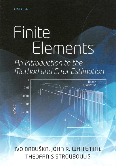 Image for Finite Elements: An Introduction to the Method and Error Estimation.