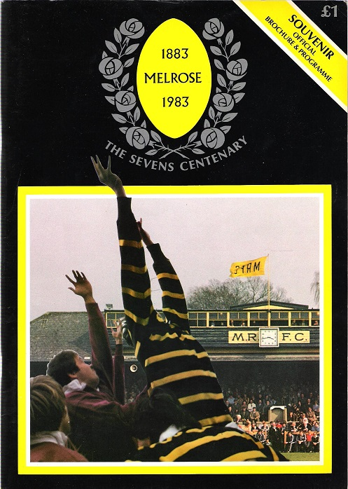 Image for The Sevens Centenary 9th April, 1983 Souvenir Programme.