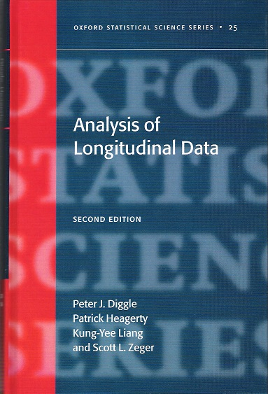 Image for Analysis of Longitudinal Data.