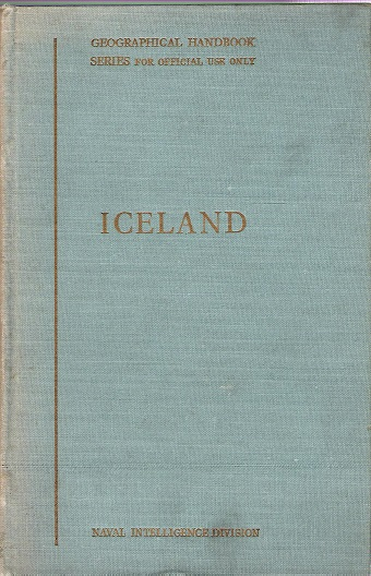 Image for Iceland: Geographical Handbook .