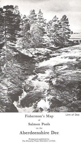 Image for Fisherman's Map of the Salmon Pools on the Aberdeenshire Dee