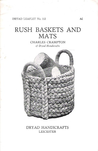 Image for Dryad Leaflet No.112: Rush Baskets and Mats.