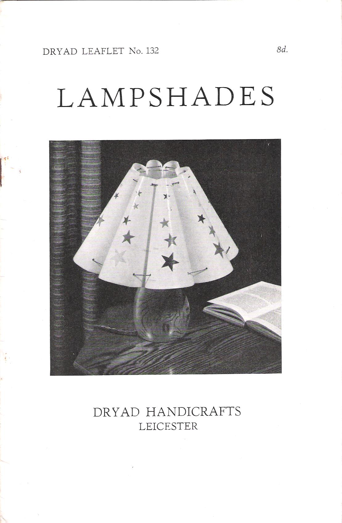 Image for Dryad Leaflet No.132: Lampshades.