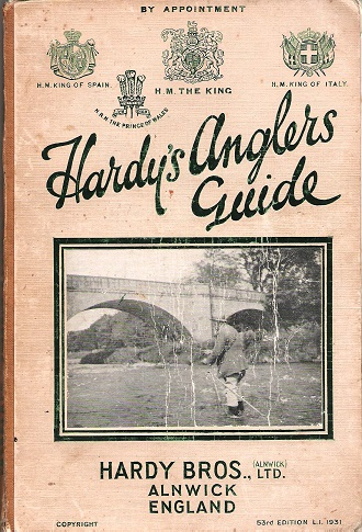 Image for Hardy's Anglers Guide 1931.
