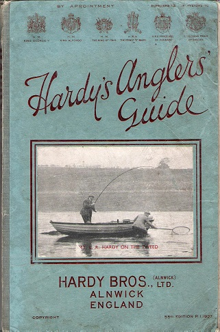 Image for Hardy's Anglers Guide 1937.