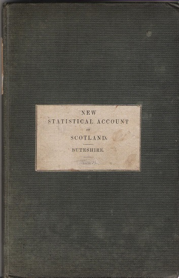 Image for New Statistical Account of Scotland, Buteshire.