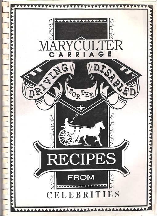 Image for Maryculter Carriage Driving for the Disabled: Recipes from Celebrities.