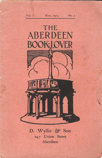 Image for The Aberdeen Book Lover: Volume I May 1913 No. 1.