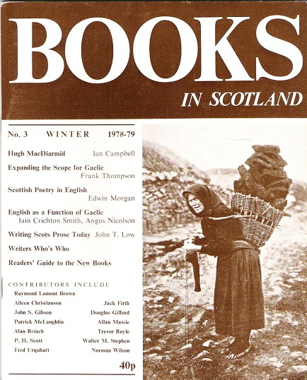 Image for Books in Scotland No.3.