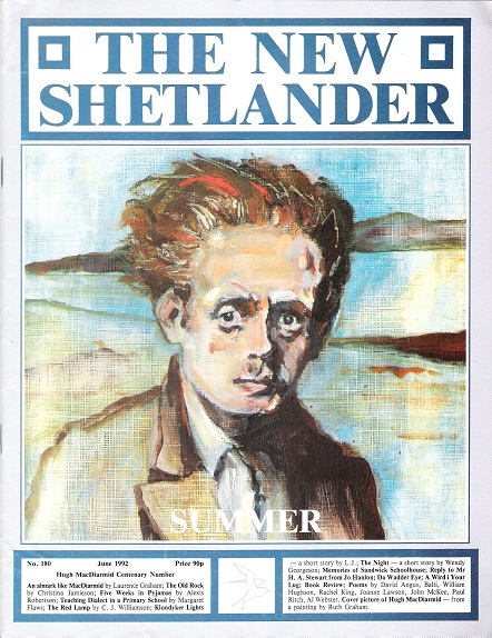 Image for The New Shetlander No.180, Hugh MacDairmid Centenary Issue.