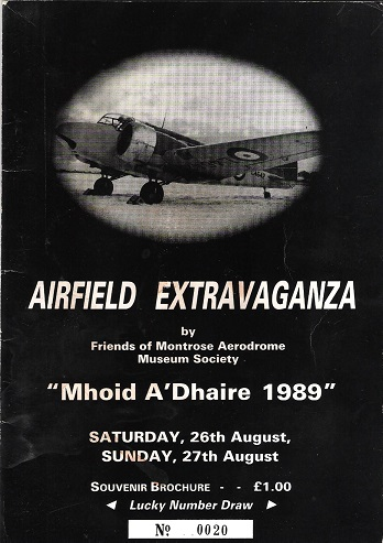 "Image for Airfield Extravaganza ""Mhoid A'Dhaire 1989""."