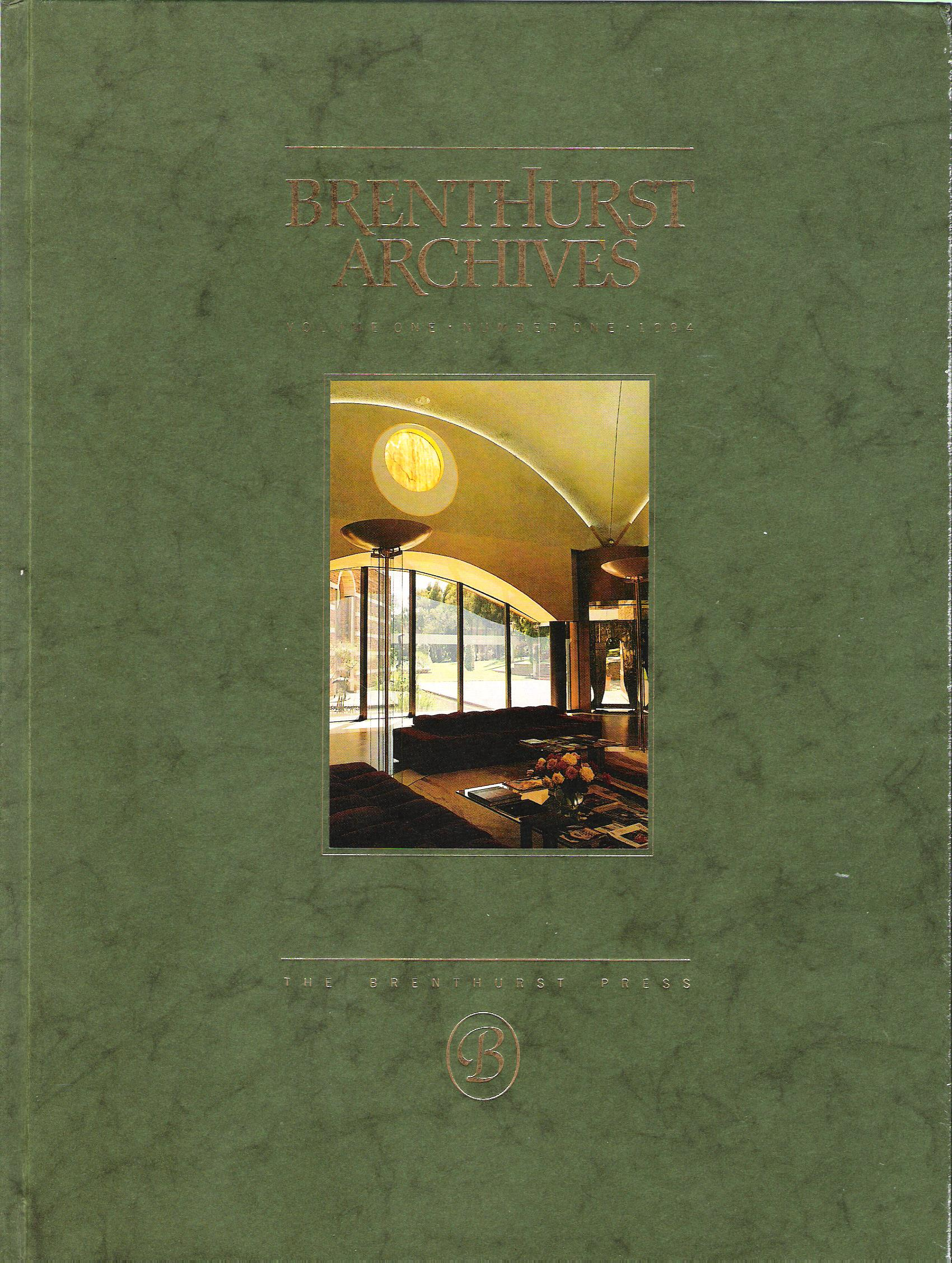 Image for Brenthurst Archives, 4 Volumes.