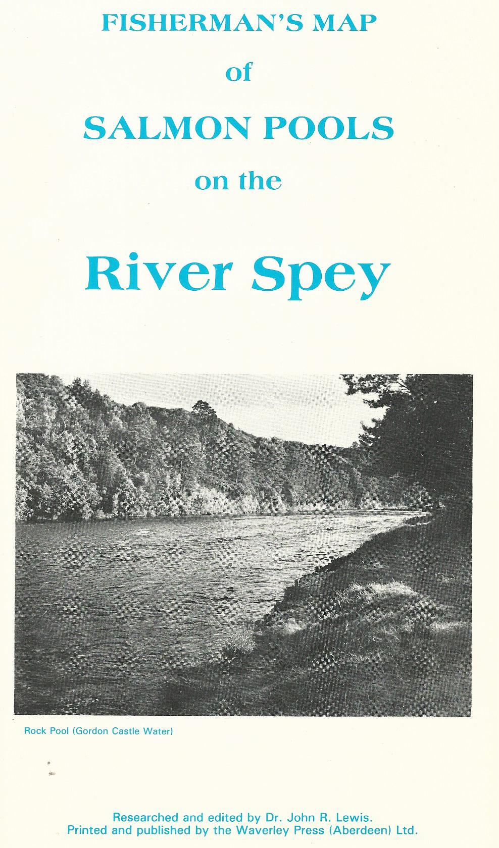 Image for Fisherman's Map of Salmon Pools of the River Spey.