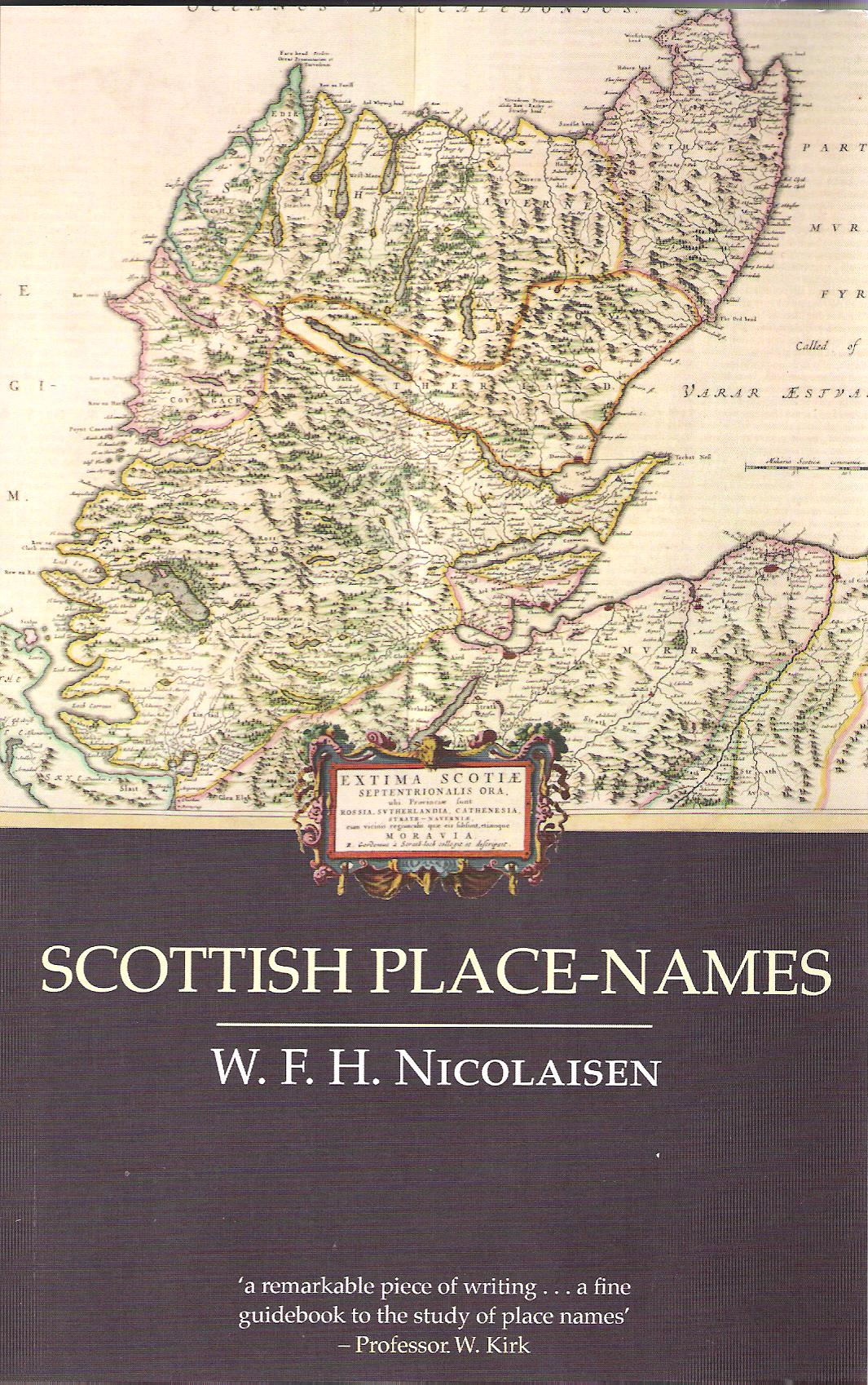 Image for Scottish Place-Names: Their Study and Significance.