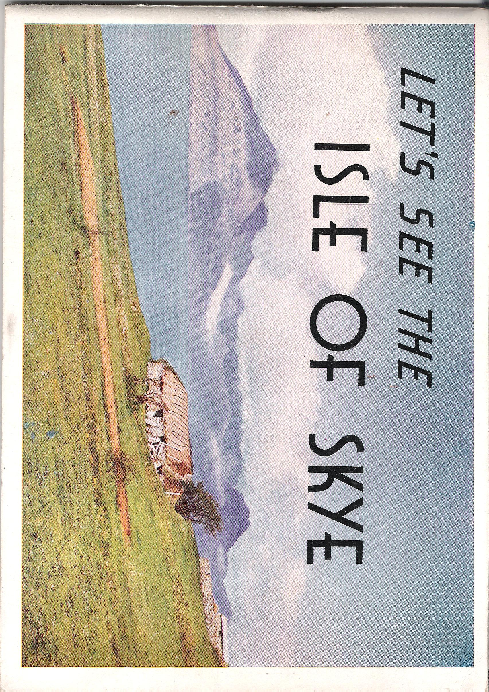 Image for Let's See the Isle of Skye.