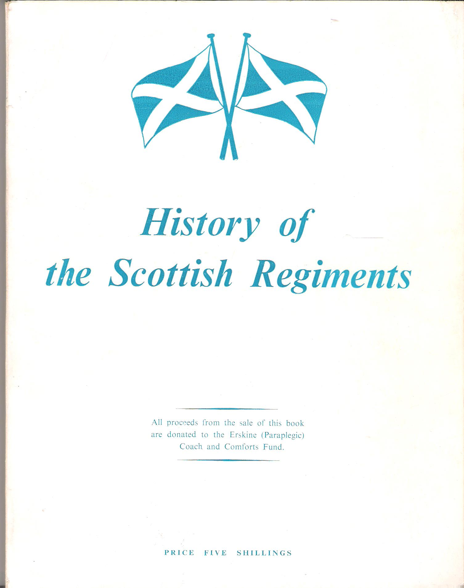 Image for History of the Scottish Regiments.