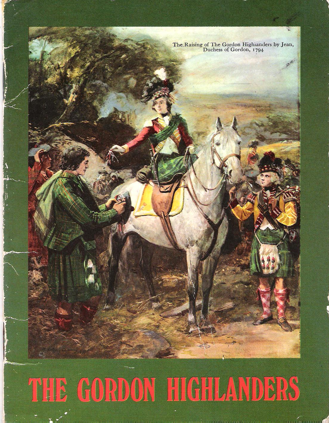 Image for The Gordon Highlanders.