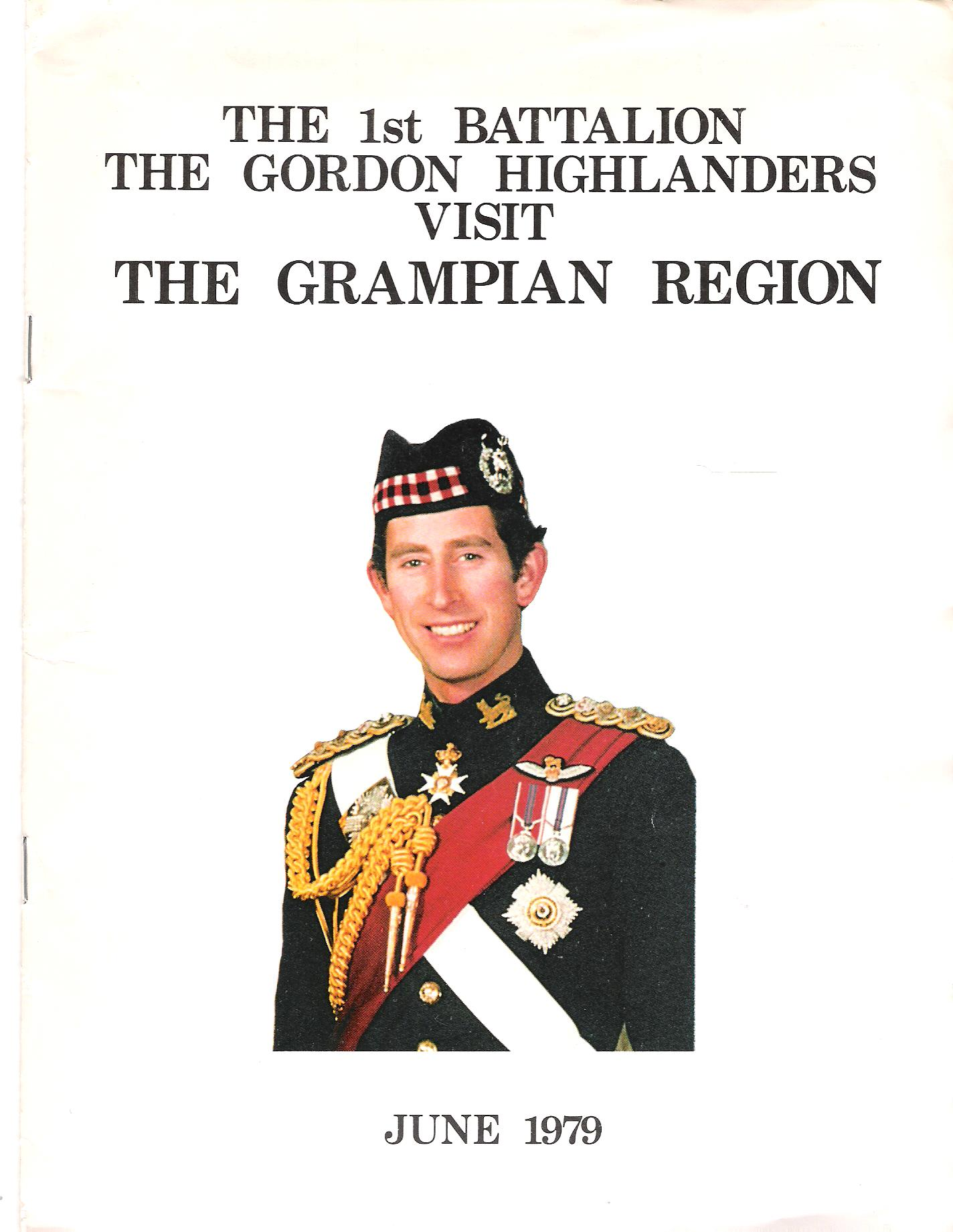 Image for The 1st Batallion The Gordon Highlanders Visit the Grampian Region.