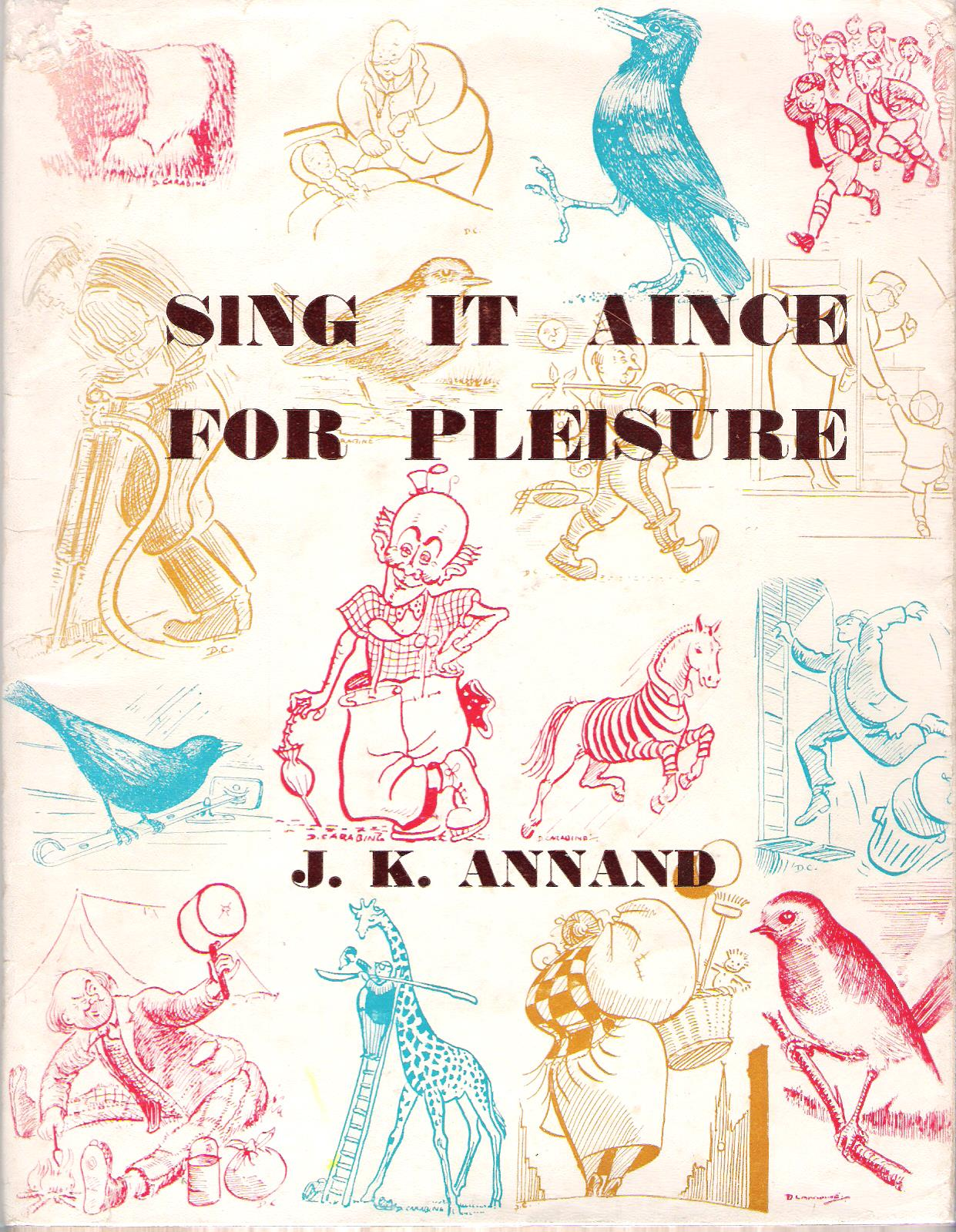 Image for Sing it  Aince for Pleisure.