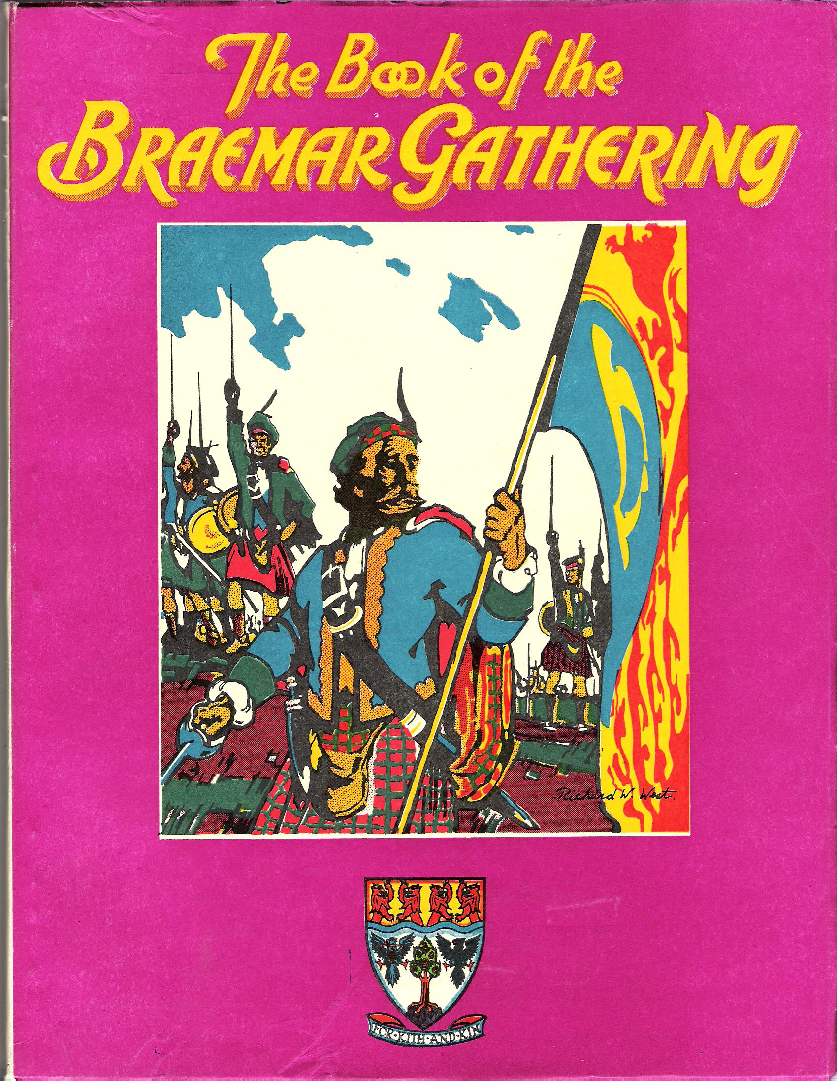 Image for The Book of the Braemar Gathering, 1976.