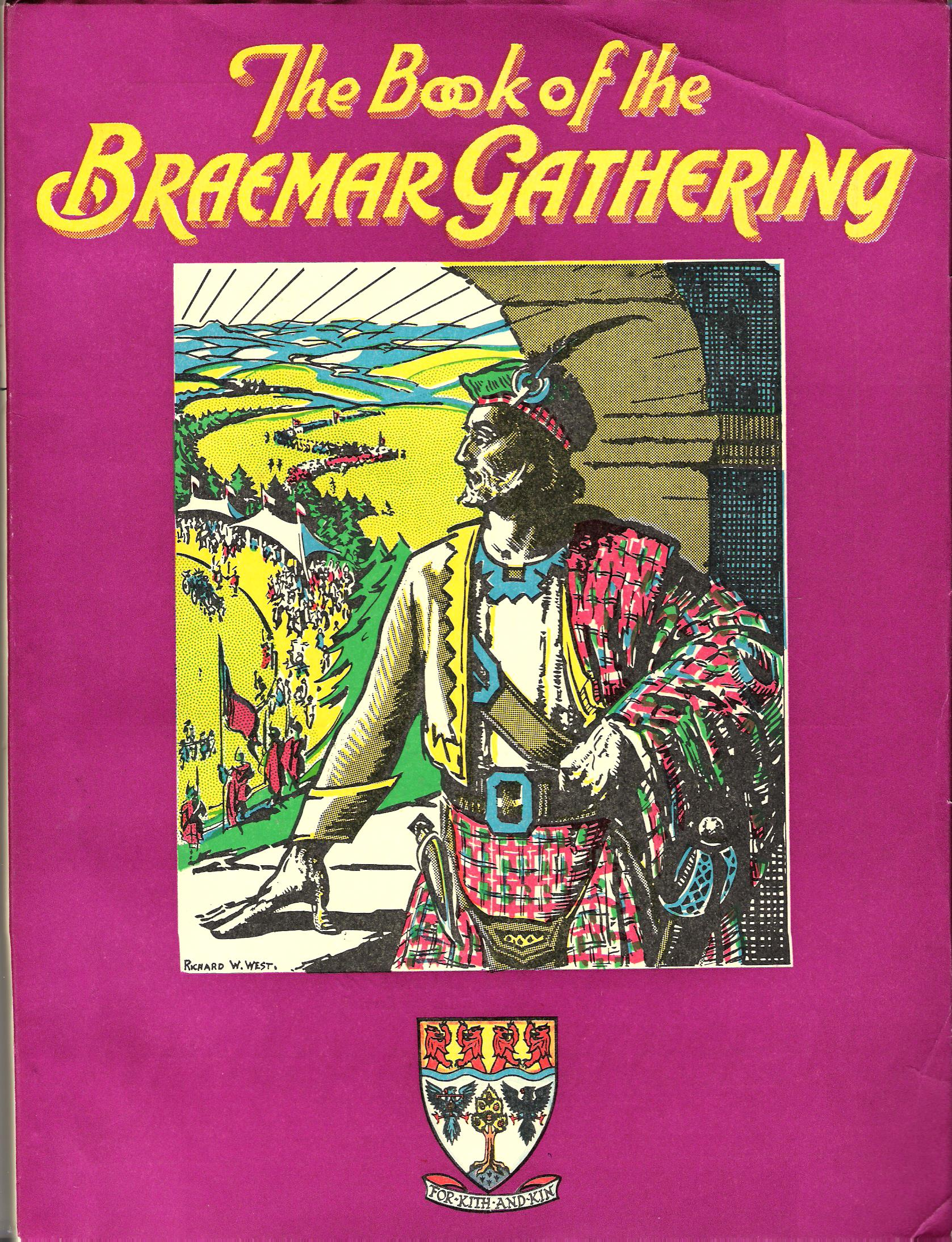 Image for The Book of the Braemar Gathering 1974.