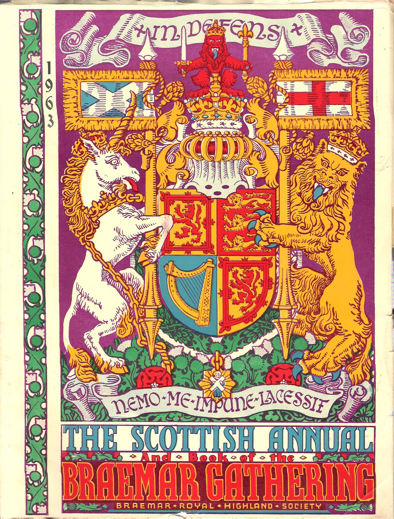 Image for The Book of the Braemar Gathering, 1963.