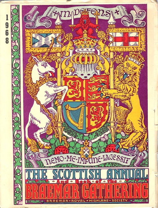 Image for The Book of the Braemar Gathering,1968.